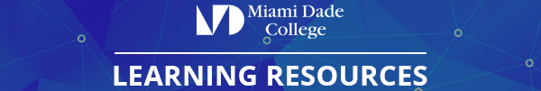 Miami Dade College Learning Resources Logo